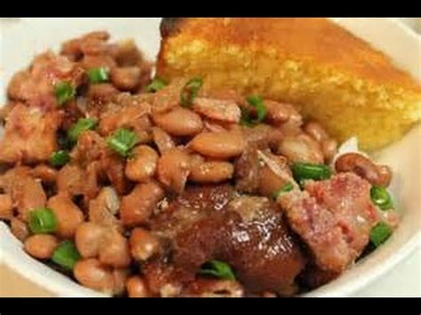2) drain beans the rinse them. Cooking 101:Pinto Beans and Ham Hocks ft. Power Pressure Cooker XL - YouTube