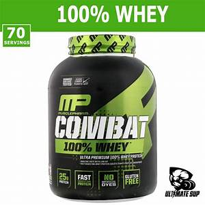 Musclepharm  Combat 100  Whey Protein Powder