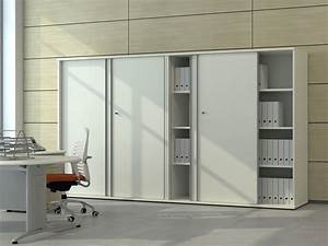 Armoire De Rangement Bureau : armoires et caissons m lamin s armoires coulissantes i ~ Dailycaller-alerts.com Idées de Décoration