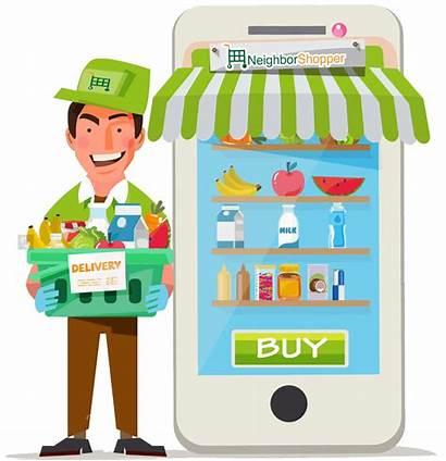 Grocery Clipart Delivery Transparent Demand Webstockreview Case