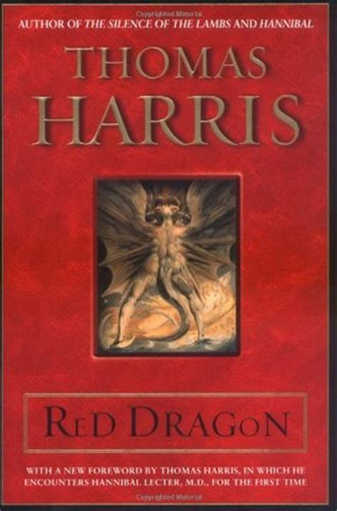 red dragon hannibal lecter   thomas harris
