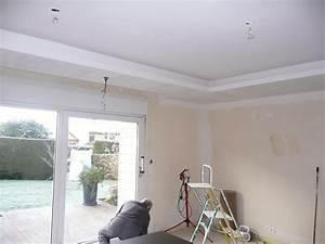 Comment Faire Un Plafond En Placo : forum pour construire et r nover voir le sujet plafond ~ Dailycaller-alerts.com Idées de Décoration