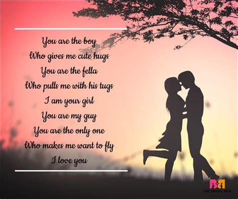 Romantic Love Poems for Him Short