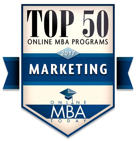 Mba Marketing by Top 50 Mba Programs In Marketing 2017 Mba