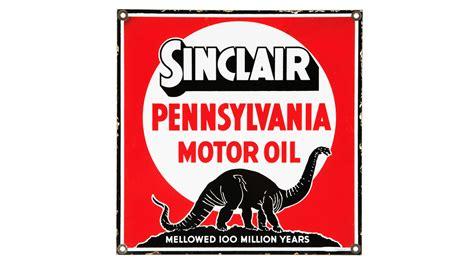 Sinclair Pennsylvania Motor Oil Sign Ssp 20x20