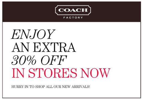 Office Depot Coupons December 2012 by 30 Coach Outlet Printable Coupon For Savings