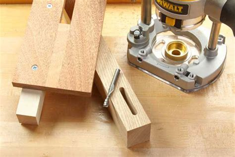 cut mortises   plunge router jig woodworking