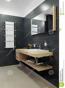 Modern Restroom Stock Image Image Of Attractive Bathtub