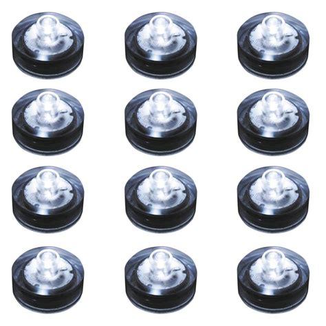 led submersible lights lumabase white submersible led lights box of 12 68012
