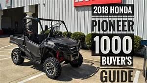 2018 Honda Pioneer 1000 Model Lineup Explained