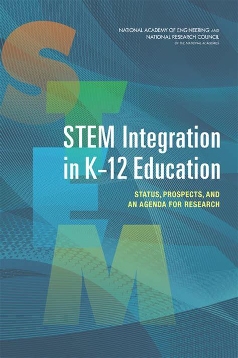 stem integration    education status prospects