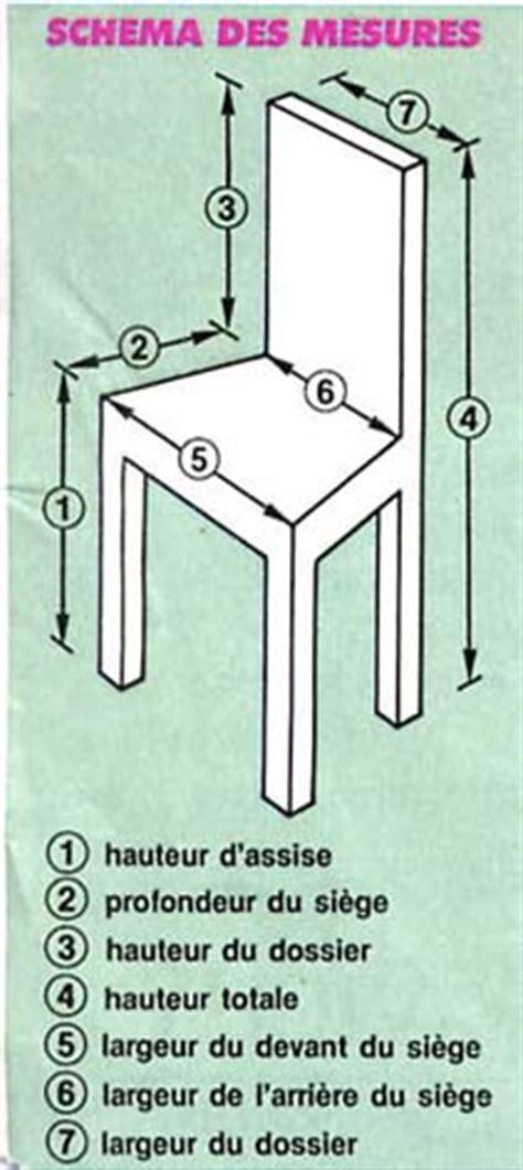 tutoriel couture housse de chaise