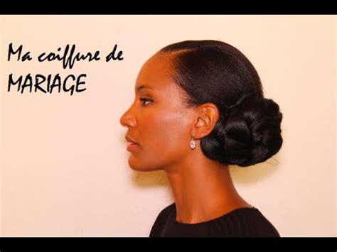 ma coiffure de mariage sur cheveux afro naturels cr 233 pus