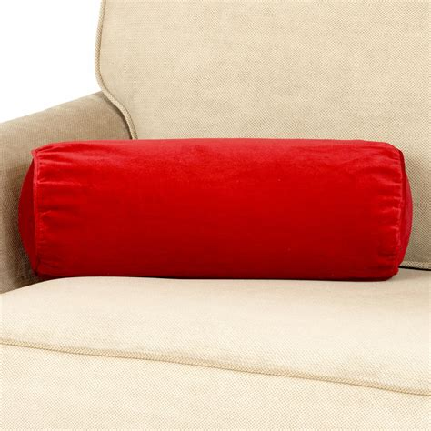 inspirations beautiful color red throw pillows