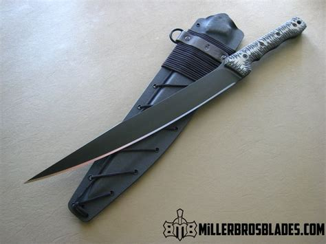Miller Bros Blades Tactical Short Sword Available In Z