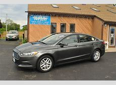 2016 Ford Fusion SE Gray Sedan Sale