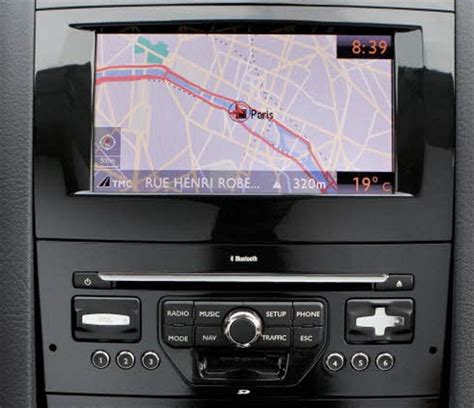 citroen  rt rt myway xcarlink interfaccia usb sd aux