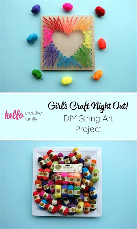 27 diy string art project inspiration crafts craft