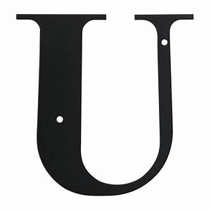 village wrought iron letter u large With large wrought iron letters