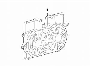 Ford Escape Engine Cooling Fan Assembly  Radiator  Motor
