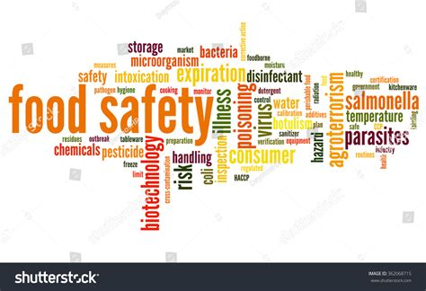 word for cuisine word cloud concept containing words related stock vektor