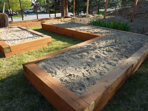 raised landscape beds cooking from a high plains garden raised beds for efficient backyard gardens
