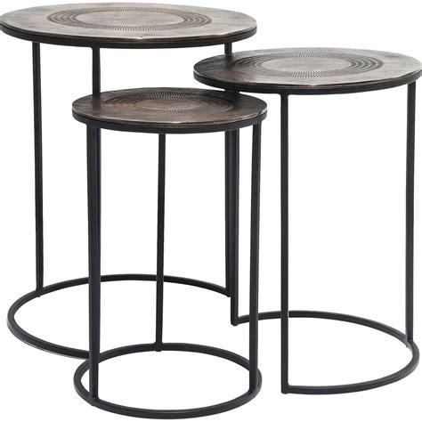 table d appoint tables d appoint traditionnelle noir marrakesh kare design
