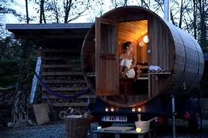 cherie aujourd39hui on appelle le sauna a domicile With construire son sauna exterieur