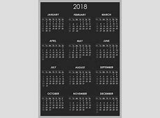 Download calendar 2018 2018 Calendar printable for Free