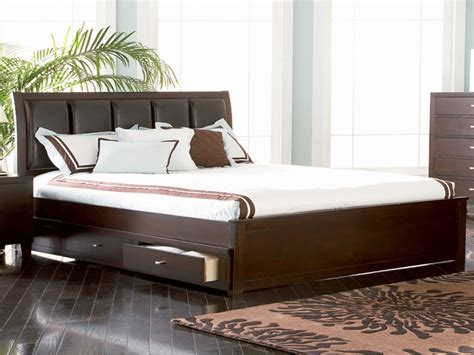 modern storage bed king size bed king bed  storage