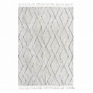 Weißes Kuhfell Teppich : hk living berber teppich handgewebt wei e baumwolle grau 140x200cm ~ Sanjose-hotels-ca.com Haus und Dekorationen