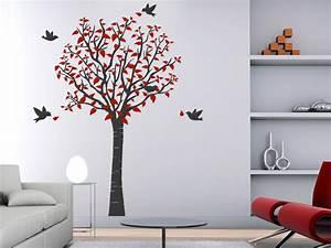 Baum Für Wohnzimmer : wandtattoo baum von ~ Michelbontemps.com Haus und Dekorationen