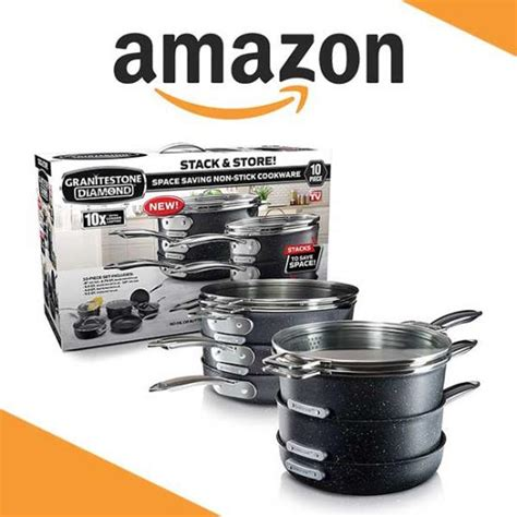 master stack pc deal cookware granitestone magazine
