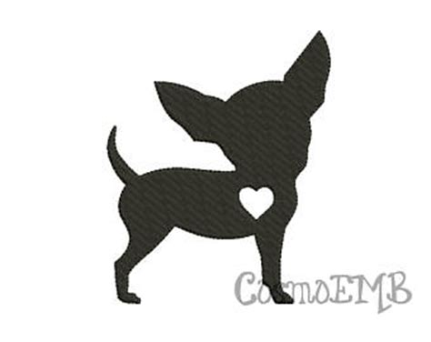 chihuahua silhouette clipart clipground