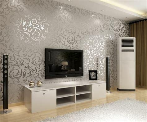 Wandgestaltung Wohnzimmer Muster by Wohnzimmer Wandgestaltung Ideen Coole Beispiele F 252 R