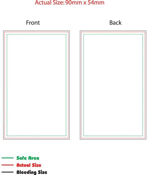 Name The Template name card business card template e print