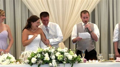 Best Man Sings And Raps His Wedding Toast