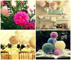 wedding decorations diy diy pom pom wedding decorations the wedding accessory superstore