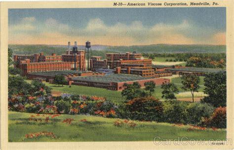 American Viscose Corporation Meadville, PA