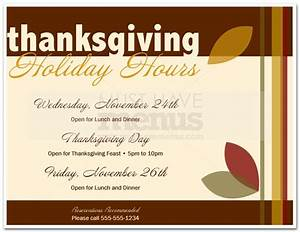 Thanksgiving closed sign template flashek Images