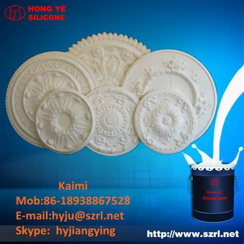 Silicone rubber rtv for plaster ceiling molds Buy