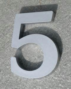 injection molded plastic specs for numbers letters With plastic house numbers and letters