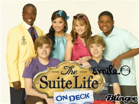 Sweet On Deck Cast by The Suite On Deck With Me Bailey Picture 125726284