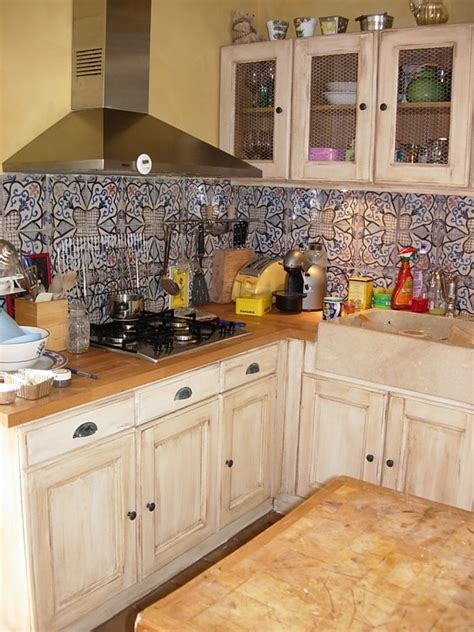 peinture pour cuisine rustique peinture pour cuisine rustique maison design bahbe com