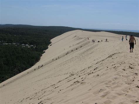 escalier dune du pyla dune du pyla en cing car en aquitaine
