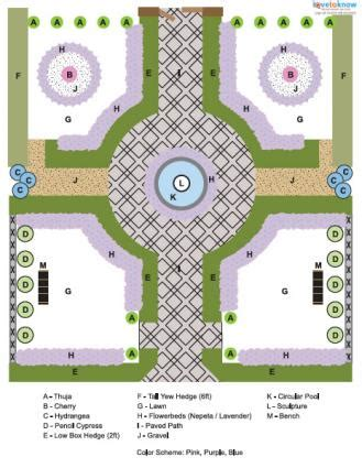 formal garden design lovetoknow