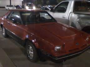 1982 Ford EXP. Knoxville, TN. 08-15-09 22:18hrs - a photo ...