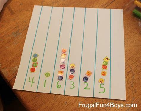 five number activities for preschoolers using materials 664 | number activities 1