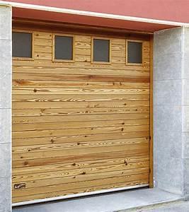 porte de garage et porte coulissante en bois massif With porte de garage coulissante et porte en bois design