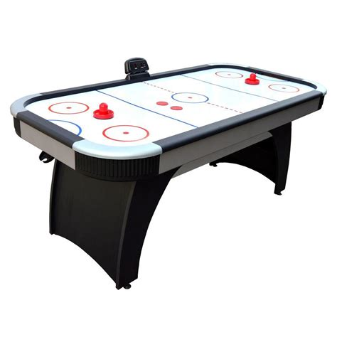 portable air hockey table trademark games 2 in 1 portable video solitaire touch